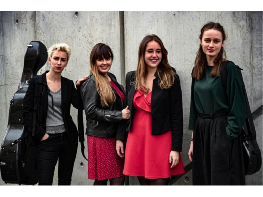Quatuor Métamorphoses és Korossy vonósnégyes - Az ECMA (European Chamber Music Academy) hangversenye