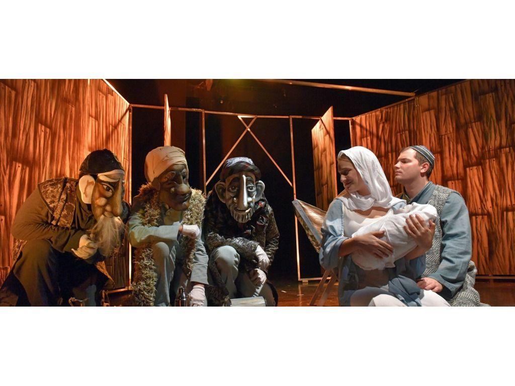 Harlekin Bábszínház: Egy jeles nap – Zenés maszkajáték Jézus születéséről / SÁTOR