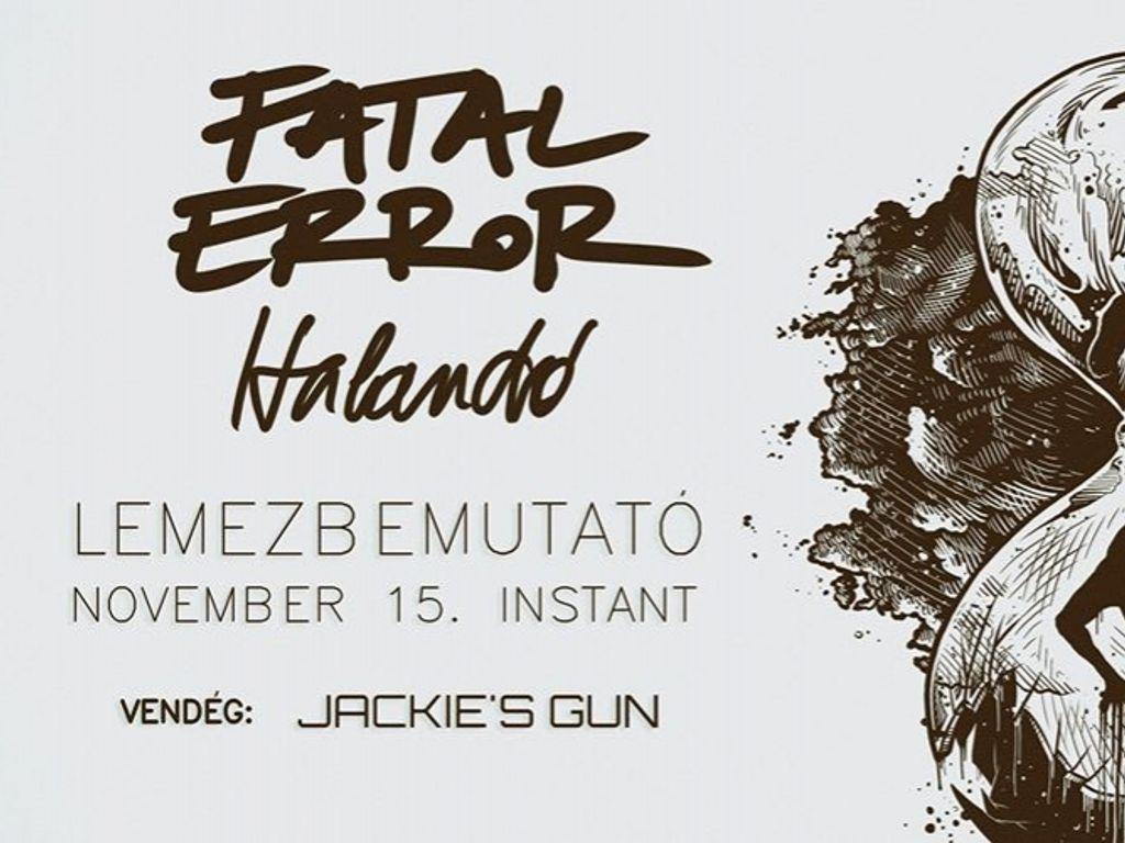 Fatal Error // Lemezbemutató // Budapest