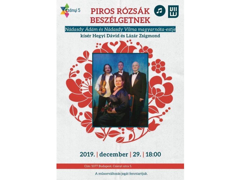 PIROS RÓZSÁK...