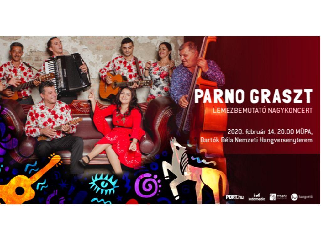 Parno Graszt - lemezbemutató nagykoncert