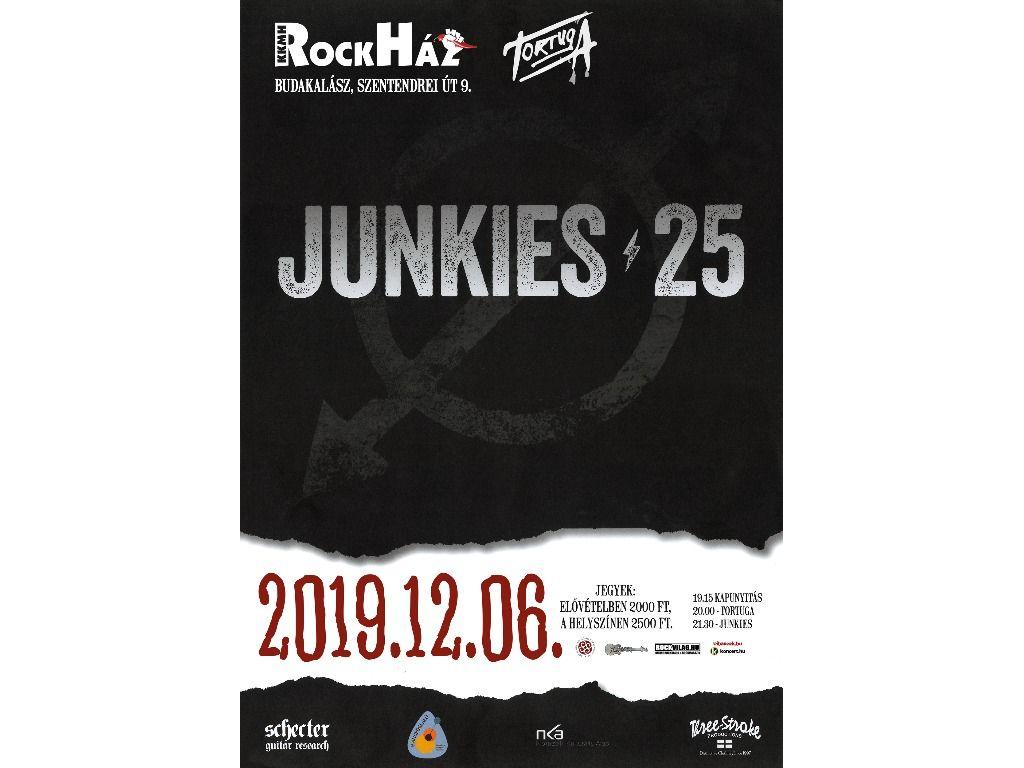 JUNKIES koncert a RockHázban!