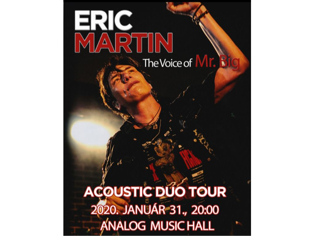 Eric Martin – the voice of Mr.Big