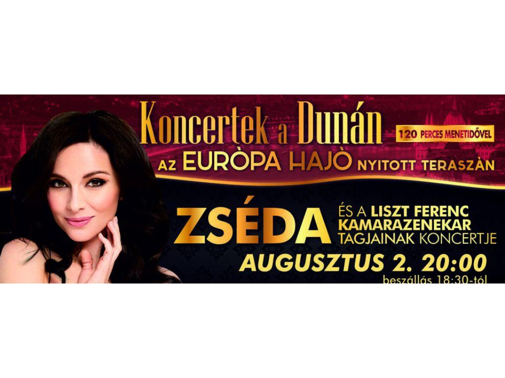 Koncertek a Dunán - Zséda és a Liszt Ferenc Kamarazenekar