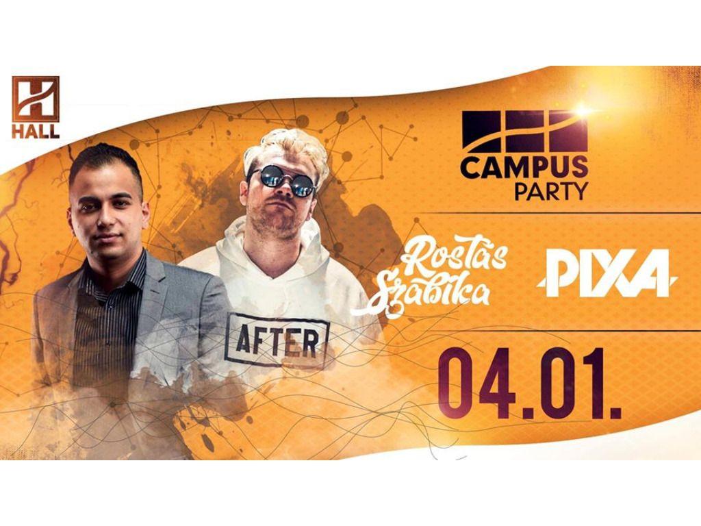 CAMPUS Party-Pixa és Rostás Szabika