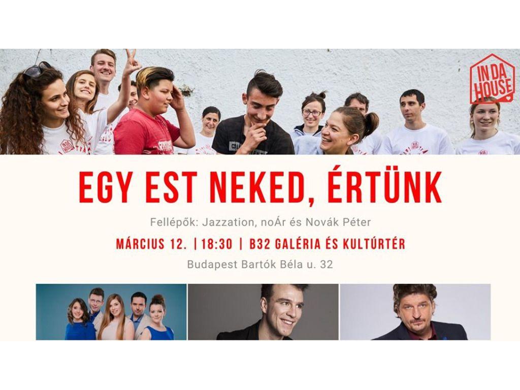 InDaHouse Hungary - Jótékonysági est