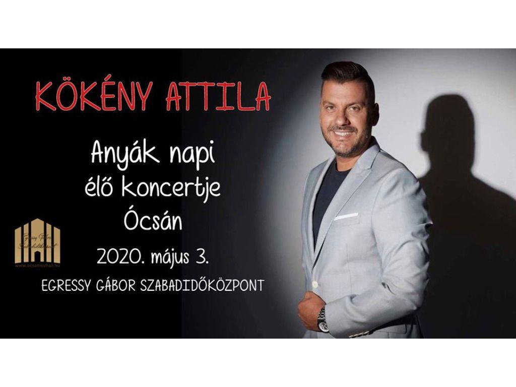 Kökény Attila élő koncert