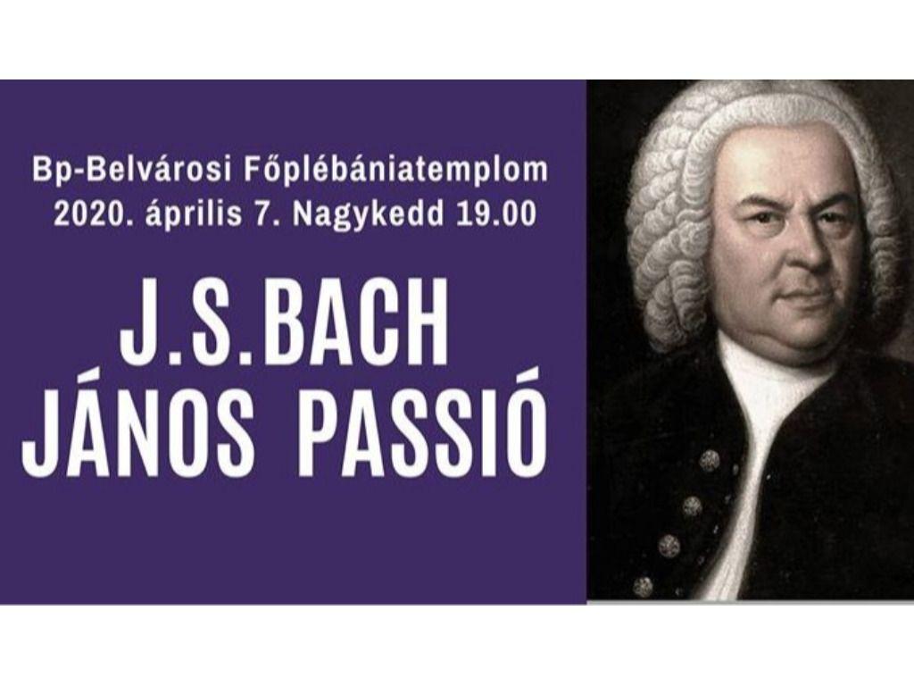 J.S. BACH: JÁNOS PASSIÓ