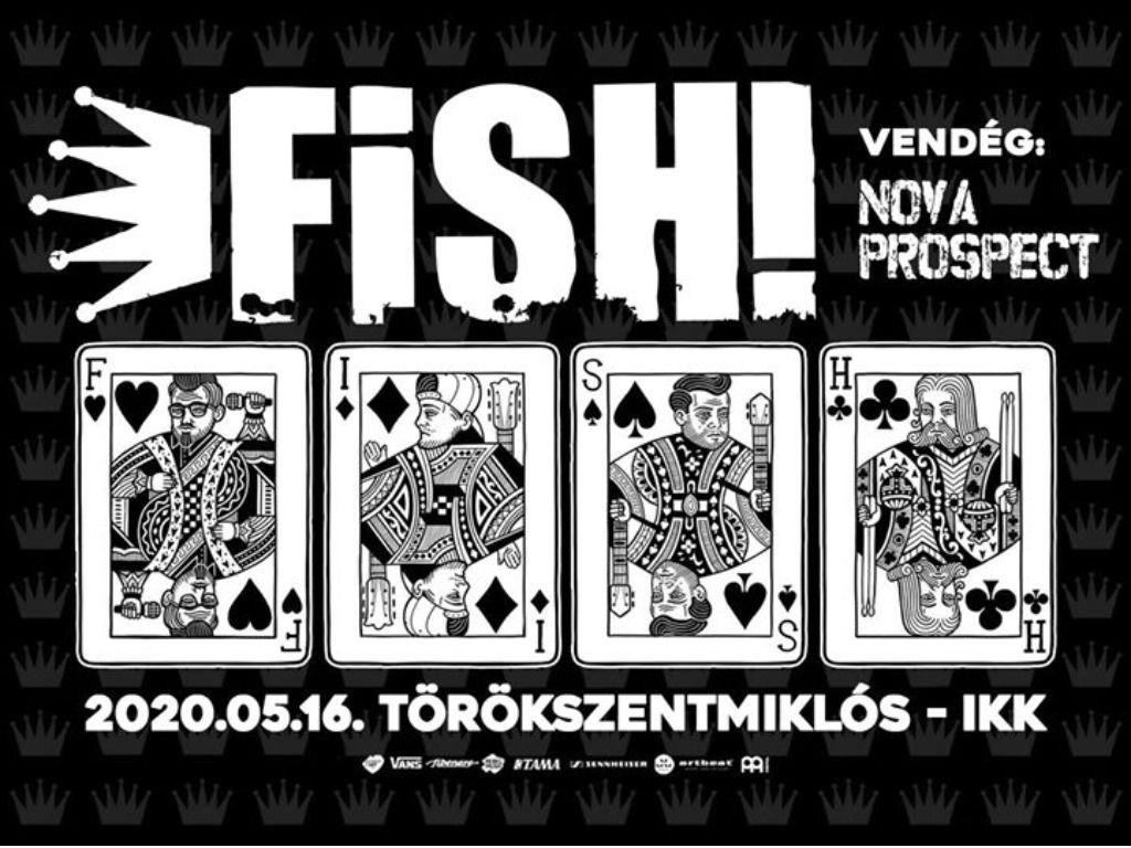 FISH! zenekar koncert Törökszentmiklóson!