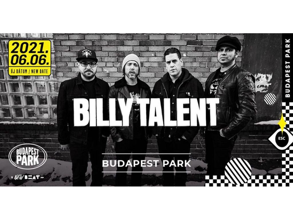 ÚJ DÁTUM!!! - Billy Talent