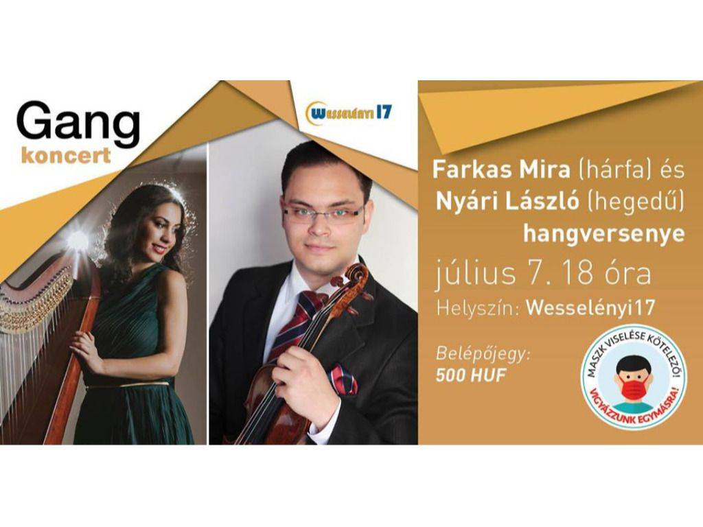 Gang koncert: Farkas Mira...