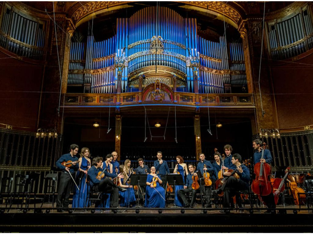 Anima Musicae koncertje az Óbudai Társaskör kertjében