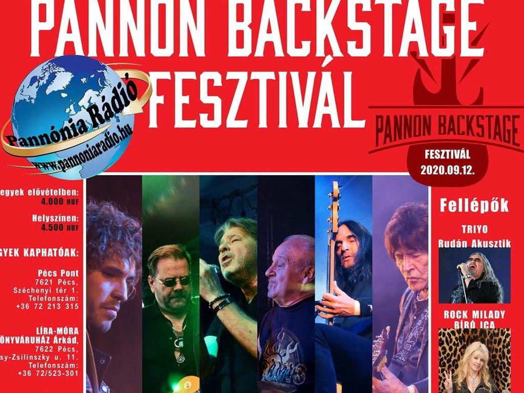 PANNON BACKSTAGE FESZTIVÁL
