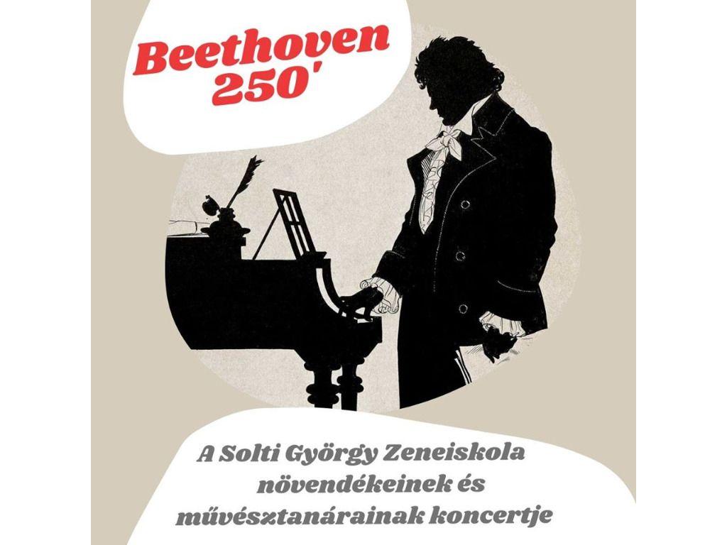 Beethoven 250 - A Solti György Zeneiskola hangversenye
