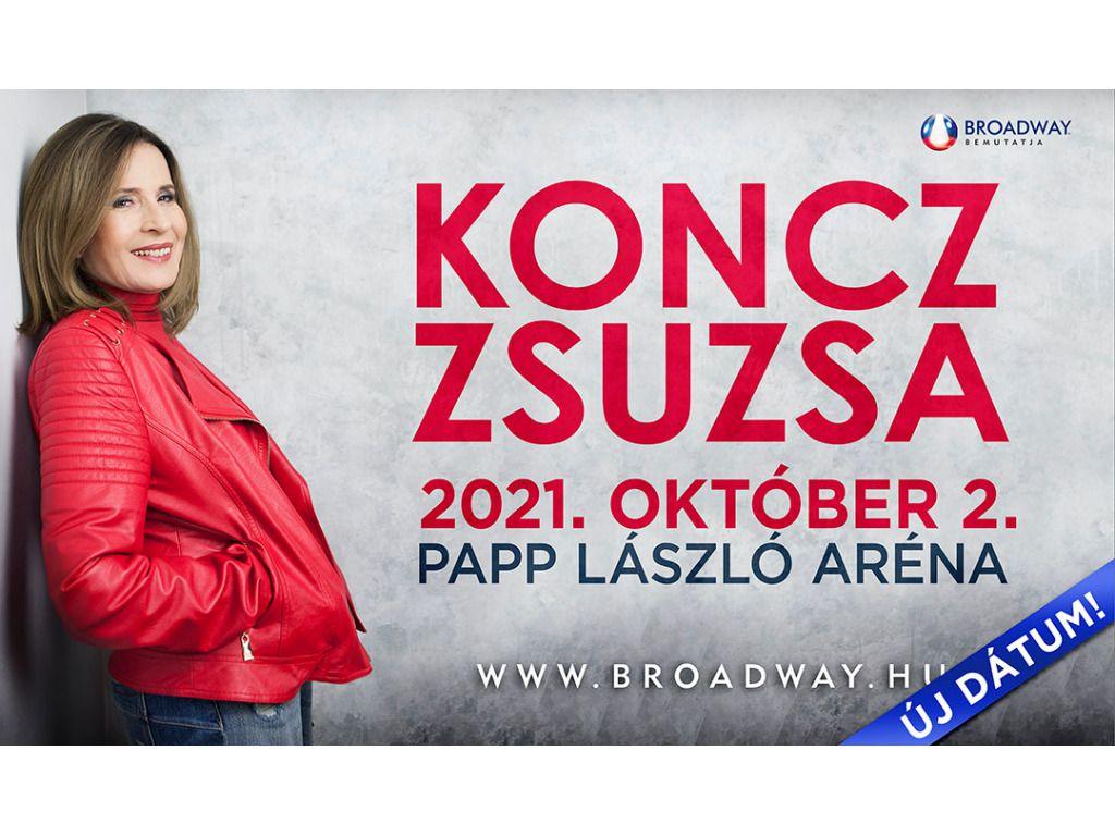 KONCZ ZSUZSA koncert - 2021