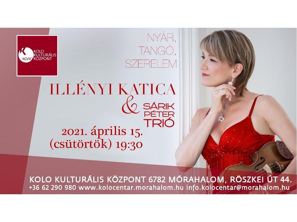 Illényi Katica & Sárik Péter Trió  - Nyár, Tangó, Szerelem koncert