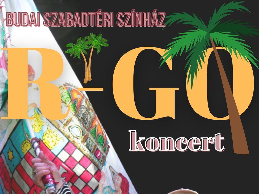 Szikora Róbert és az R-GO koncert