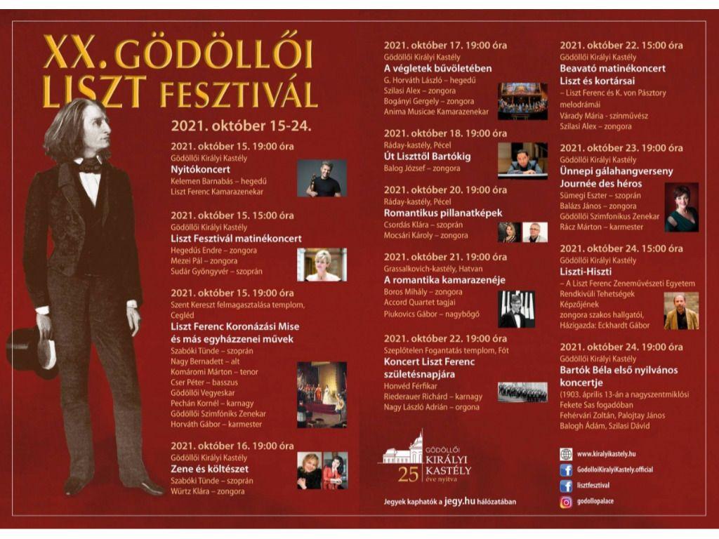 XX.Gödöllői Liszt Fesztivál - A végletek bűvöletében