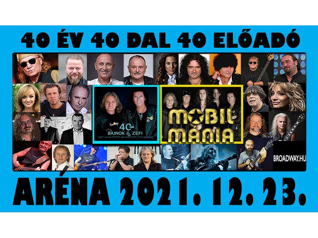 40 év ROCK /40 ELŐADÓ -...