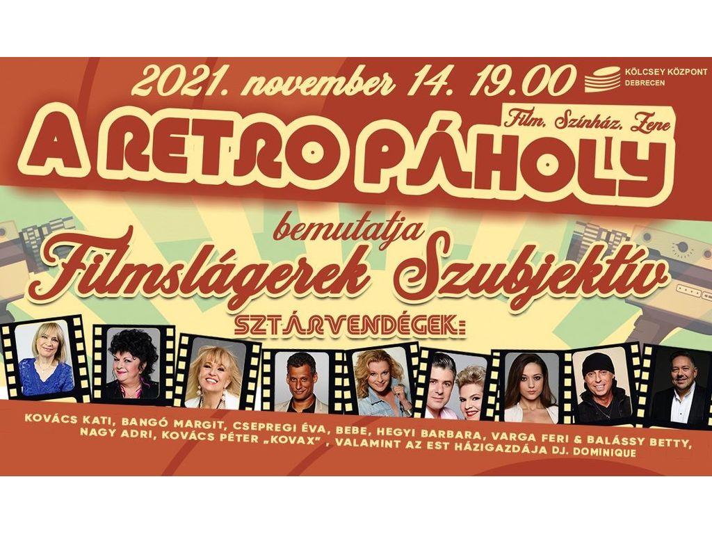 A Retro Páholy bemutatja Filmslágerek Szubjektív