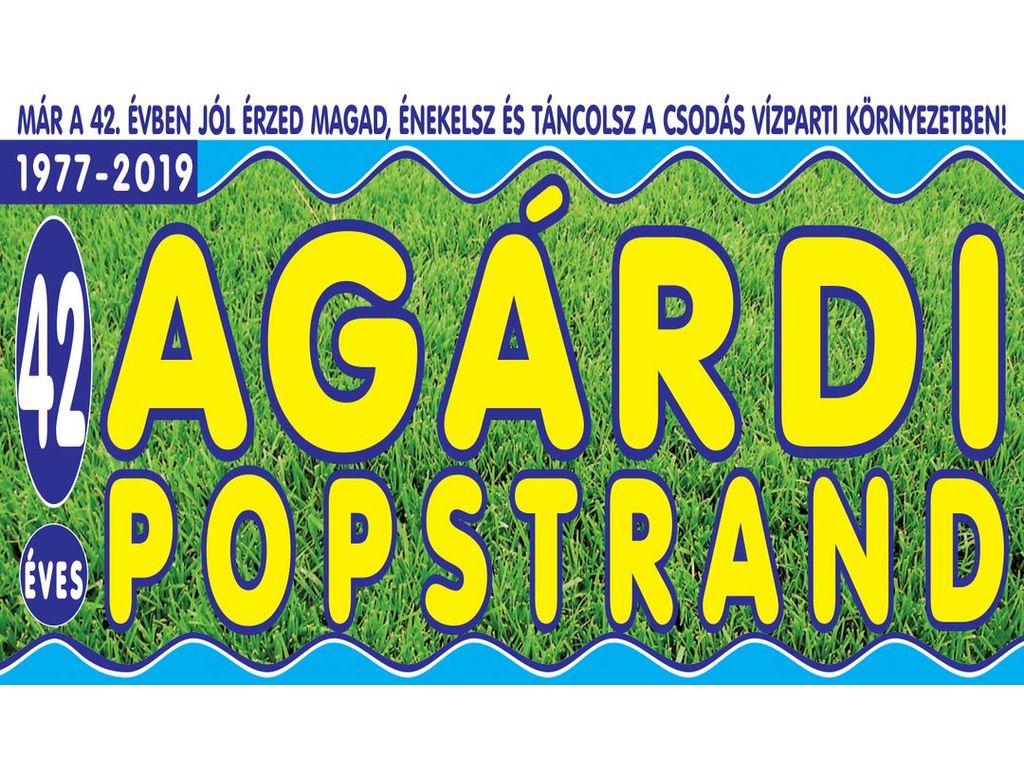 Agárdi Popstrand 2019 - VASTAG CSABA, KASZA TIBI, LÁSZLÓ...