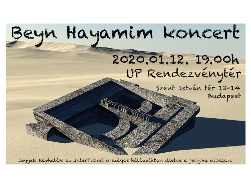 Beyn Hayamim koncert