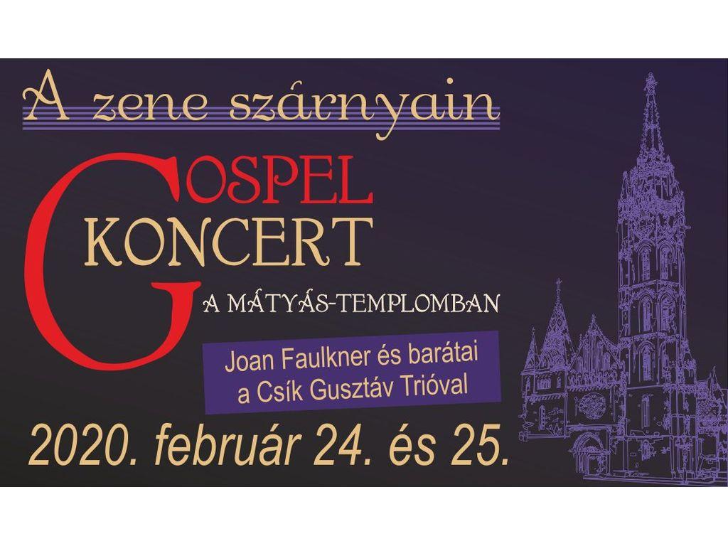 Gospel koncert a Mátyás-templomban -  Joan Faulkner és...