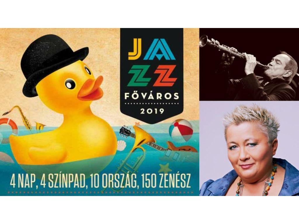 IV. JAZZFŐVÁROS Fesztivál 2019. -  Szombati napijegy