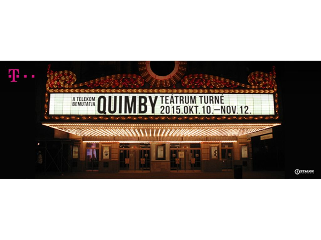 Quimby - Teátrum /filmfelvétel/