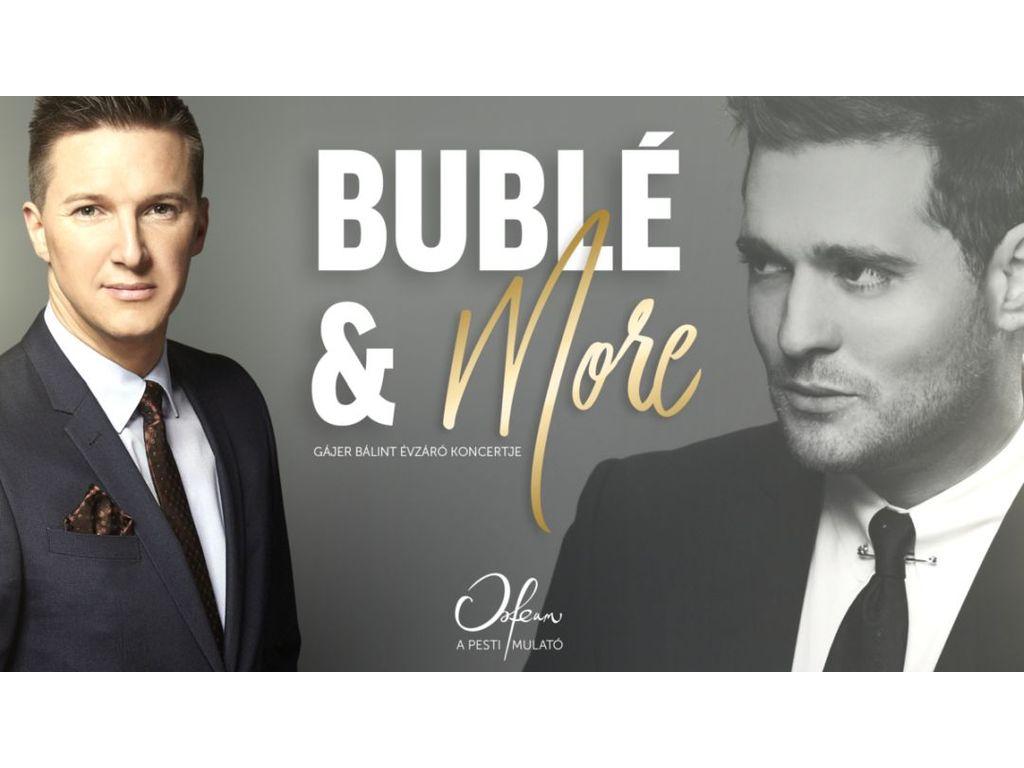 Koncert+Tapas tál: Bublé...