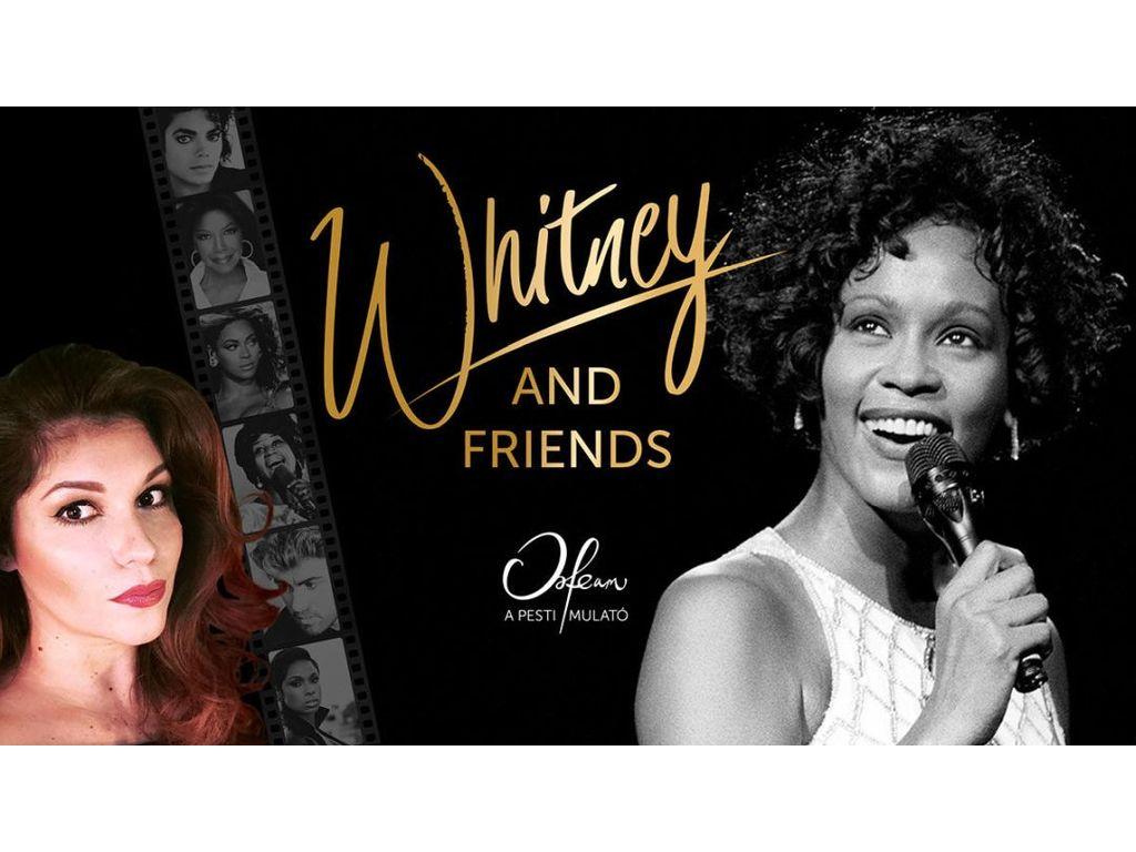 Koncert+Tapas tál: Whitney & Friends – Veres Mónika Nika...