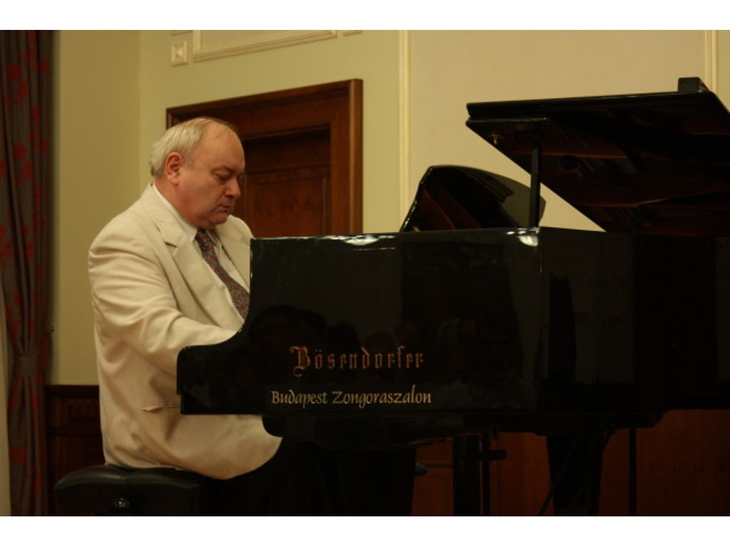 Lantos István zongoraestje
