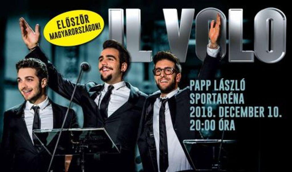 Nyerj páros belépőt az IL VOLO koncertjére!