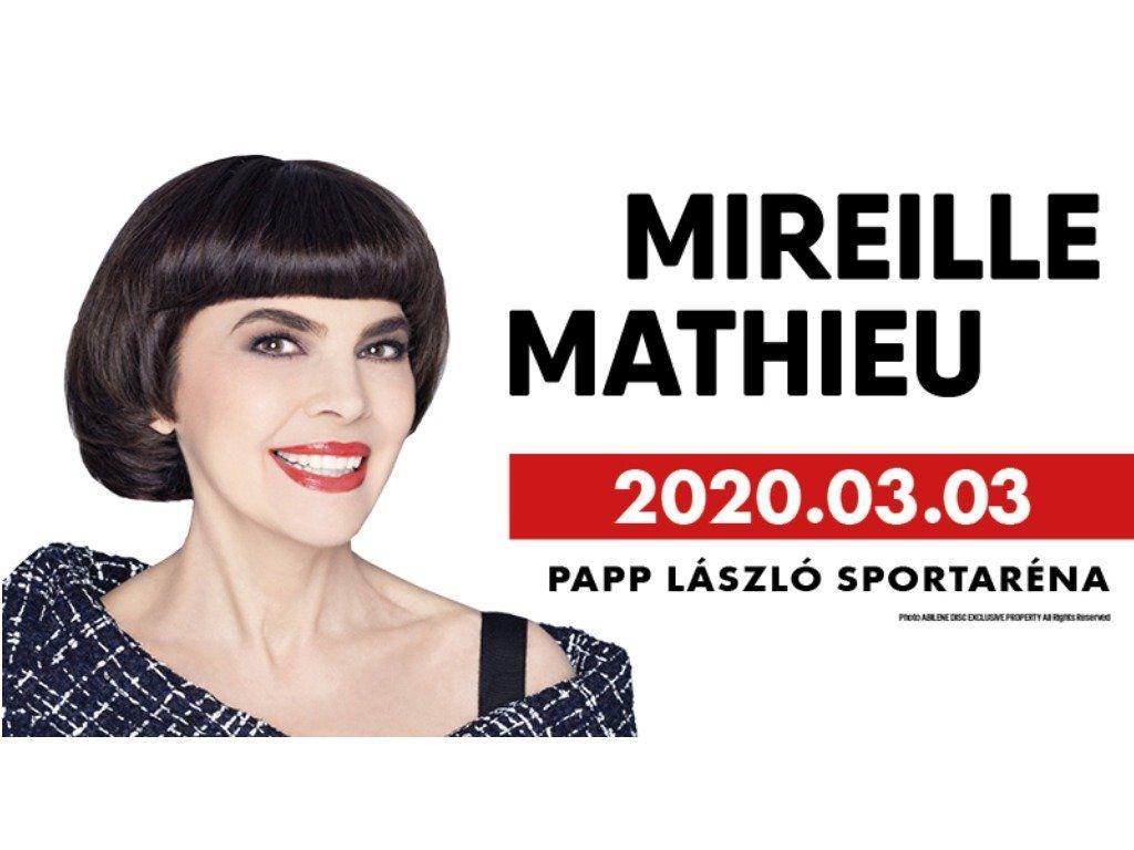 Nyerj páros belépőt Mireille Mathieu koncertjére!
