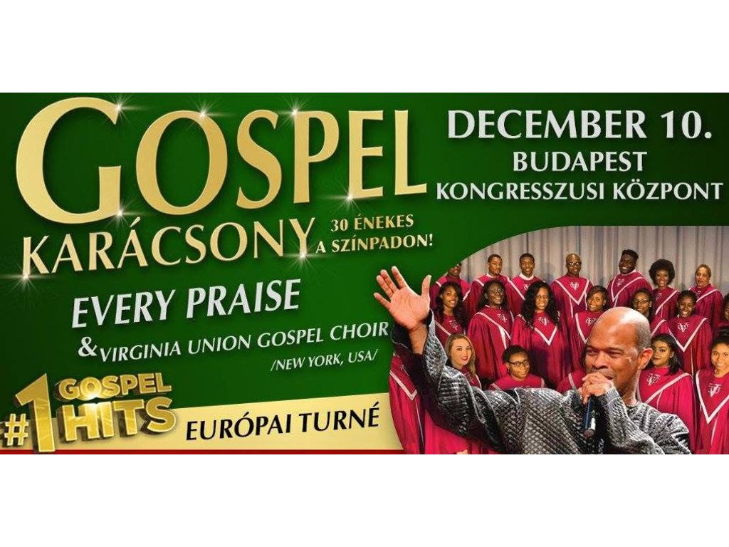 Nyerj páros belépőt a Gospel Karácsonyra!