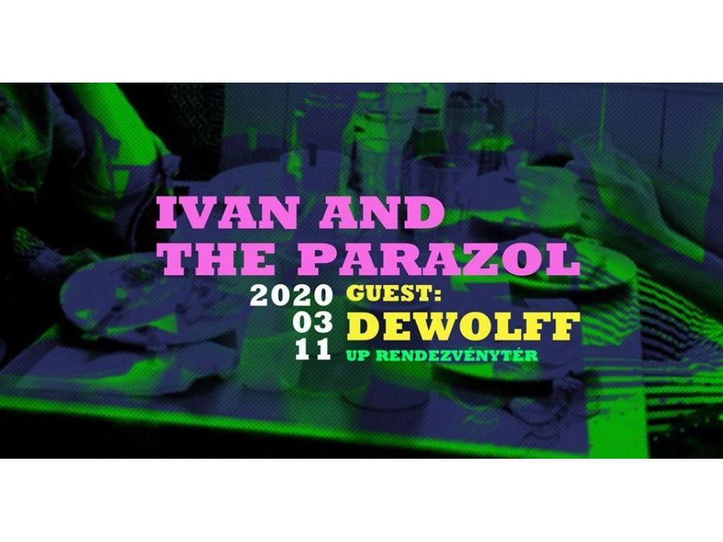 Nyerj páros belépőt az Ivan & The Parazol újpesti koncertjére!