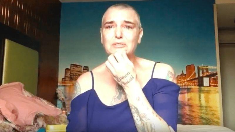 Addig segítsünk, amíg lehet – Sinead O'Connor megrázó videóban beszél az öngyilkosságról a Facebookon