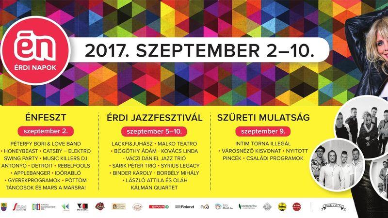 ÉRDemes lesz kilátogatni:  Péterfy Bori & Love Band, Honeybeast , tűzijáték