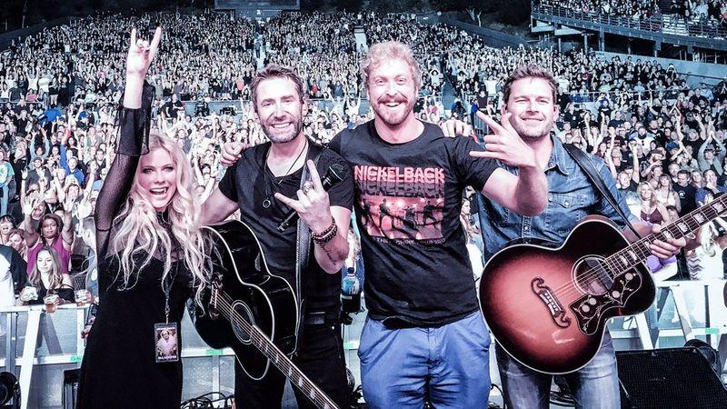 Fotó: Nickelback/Twitter