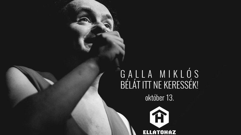 Jön sok ember, és mind jobbat vár – Galla Miklós-koncert az Ellátóházban
