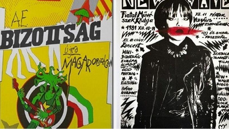 Pokoli aranykor – A 80-as évek hazai underground koncertplakátjai