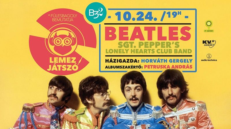 A lejátszóban: The Beatles – Sgt. Pepper's!
