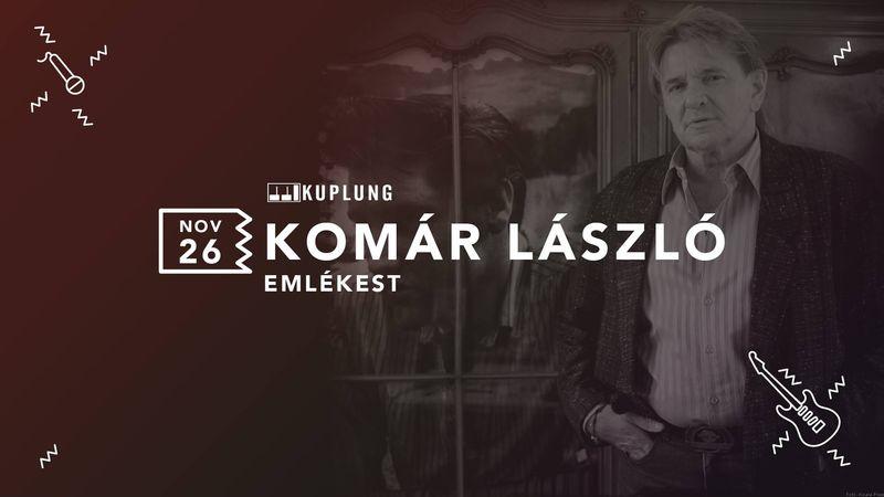Komár Lászlóra emlékeznek a Kuplungban