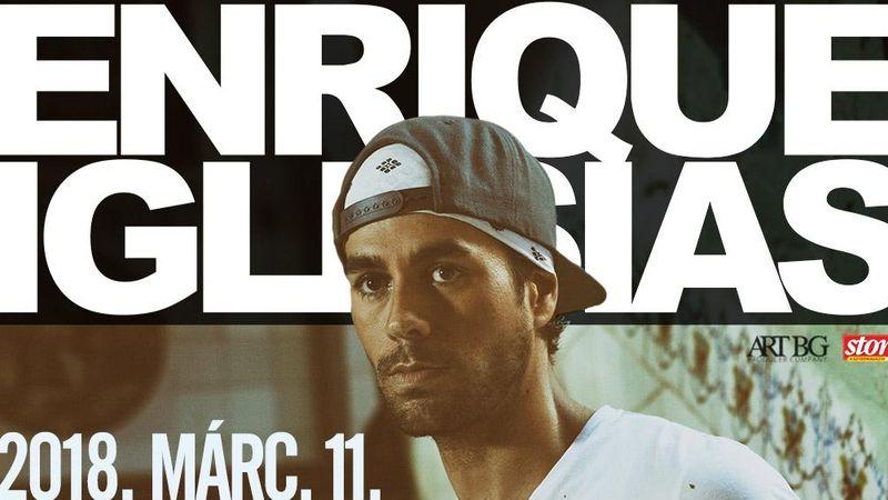 Lesz még egy Enrique Iglesias koncert!