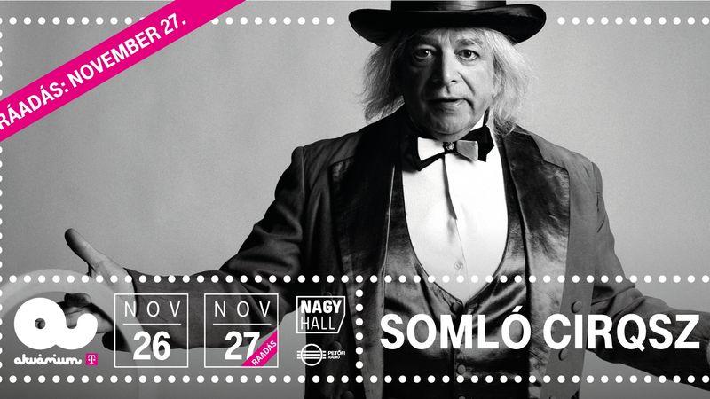 Dupla koncertet adnak Somló Tamás barátai!