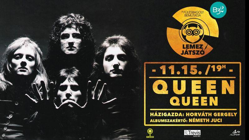 A lemezjátszón a Queen és a Depeche Mode híres albumai