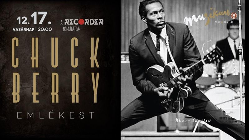 Chuck Berry Emlékest a Muzikumban