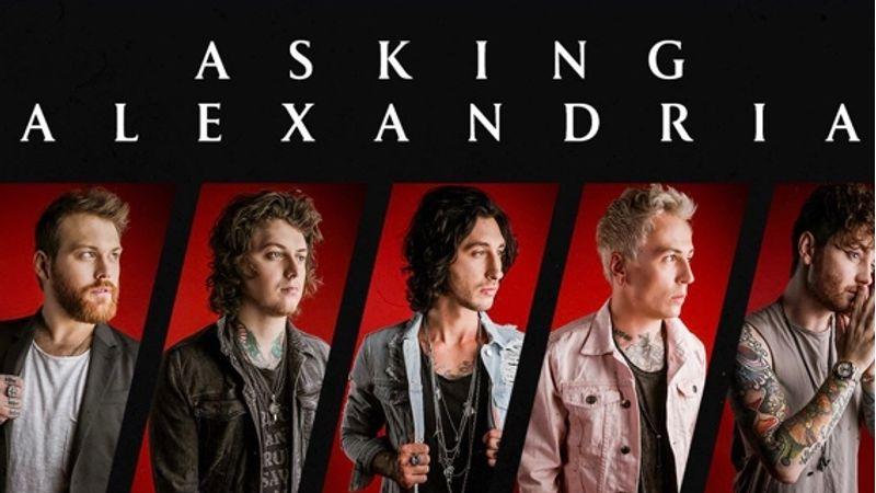 Az Asking Alexandria legújabb lemeze a Hard Rock Albumok listájának élén
