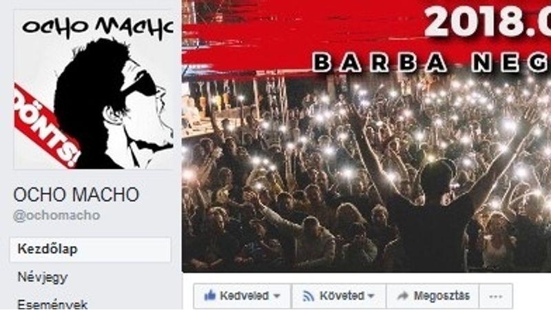 Lelép az Ocho Macho a Facebookról?