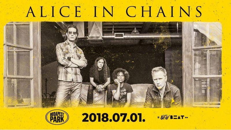 Újra Magyarországon az Alice in Chains!!!!